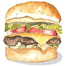 Burger Time by Samantha Mabley