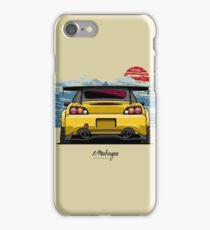 Honda S2000 (yellow) iPhone Case/Skin