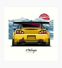 S2000 (yellow) Art Print
