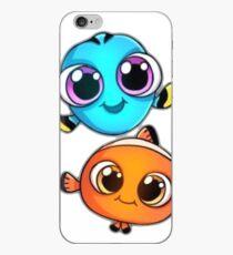 Vinilo o funda para iPhone Dory y Nemo