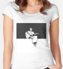 Grimmjow Black & White  Women's Fitted Scoop T-Shirt