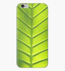 Leaf texture iPhone Case