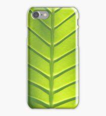 Leaf texture iPhone Case/Skin