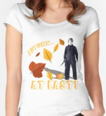 Autumn at Last Fitted Scoop T-Shirt