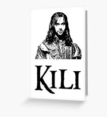 Kili Portrait Greeting Card