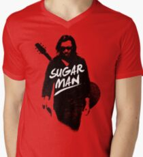 Sixto Rodriguez | Sugar Man Men's V-Neck T-Shirt