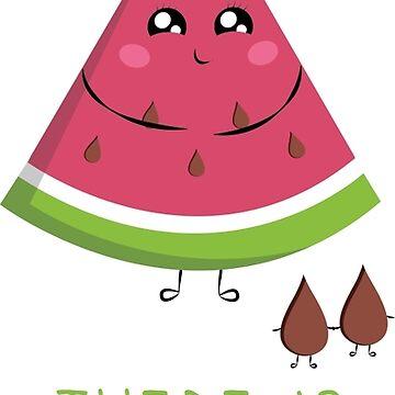 Cute Watermelon by Happy-Bird