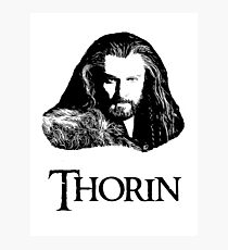 Thorin Oakenshield Portrait Photographic Print