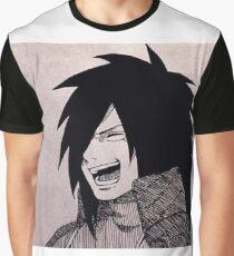 Uchiha Madara : Rire Graphic T-Shirt