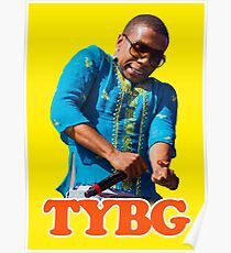 Lil Thank You Based God Poster