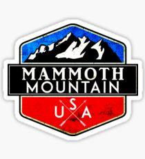 MAMMOTH MOUNTAIN CALIFORNIA SKIING SKI SNOWBOARDING HIKING CLIMBING 7 Sticker