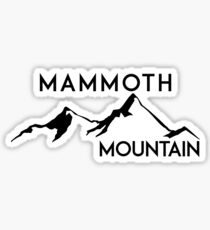 MAMMOTH MOUNTAIN CALIFORNIA SKIING SKI SNOWBOARDING HIKING CLIMBING 9 Sticker