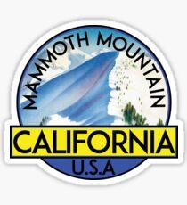 MAMMOTH MOUNTAIN CALIFORNIA SKIING SKI SNOWBOARDING HIKING CLIMBING 10 Sticker