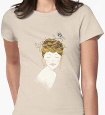 Nest Hair Womens Fitted T-Shirt