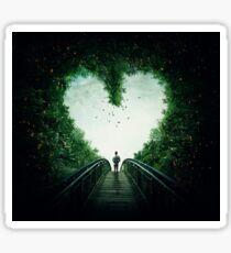 follow your heart Sticker