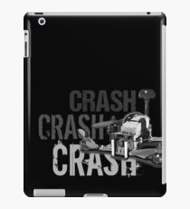 CRASH, CRASH, CRASH!!! iPad Case/Skin