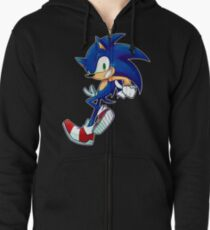 Sonic the Hedgehog Zipped Hoodie