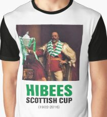 Hibs scottish Cup winners 2016 Graphic T-Shirt