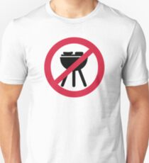 No BBQ barbecue Unisex T-Shirt