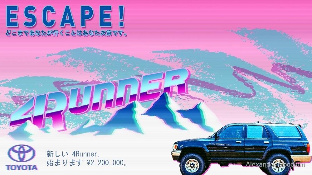 Vaporwave 4Runner Advertisement by iLoveV8s