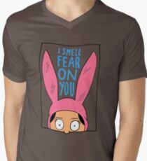 I Smell Fear on You Men's V-Neck T-Shirt