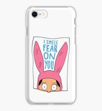 I Smell Fear on You iPhone Case/Skin