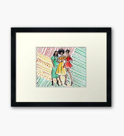 Coils in Color Framed Print