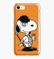 Snoopy DeLarge (A Clockwork Beagle) iPhone Case/Skin