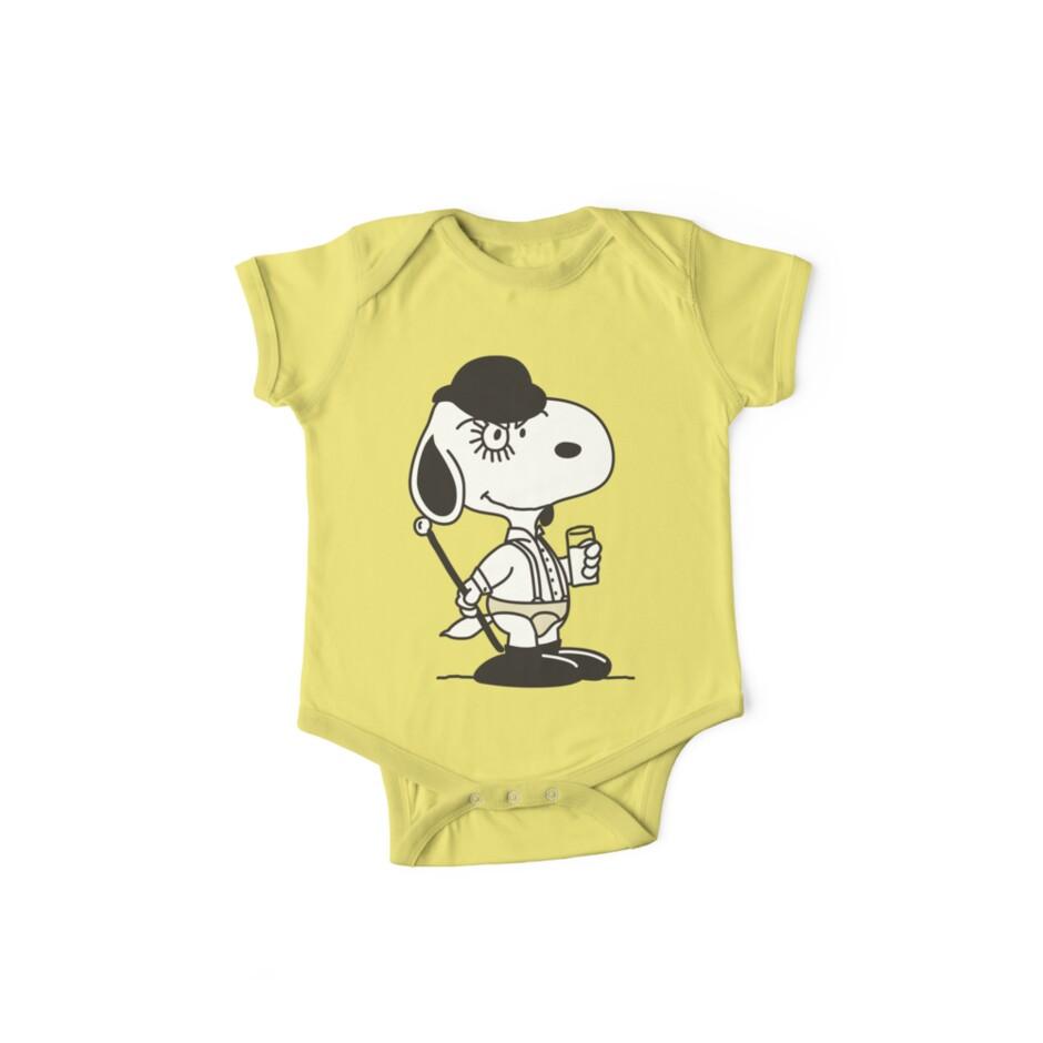 Snoopy DeLarge (A Clockwork Beagle) by D4N13L