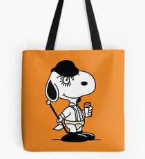 Snoopy DeLarge (A Clockwork Beagle) Tote Bag
