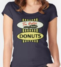 Tim Horton's OG  Women's Fitted Scoop T-Shirt