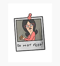Do Not Feed! Photographic Print