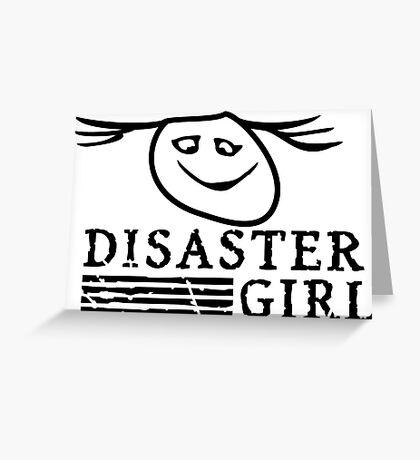 Disaster Girl VRS2 Greeting Card