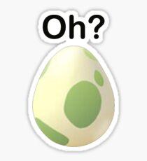 Oh? Pregnant Pokemon Go shirt Sticker