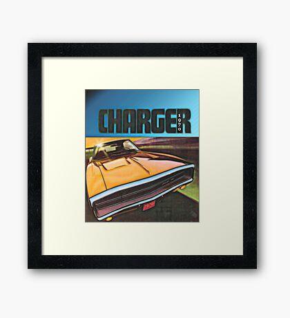 1970 Dodge Charger Framed Print