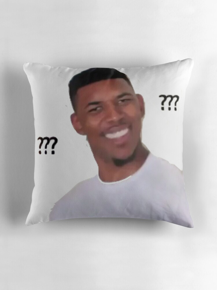 Quot Nick Young Meme Quot Throw Pillows By Svampwolf Redbubble