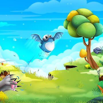 Birdie by andrapopovici