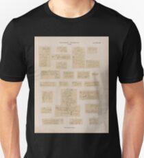 0709 Sinaitische Inschriften No 48 70 Wadi Mokatteb Gruppe A Unisex T-Shirt