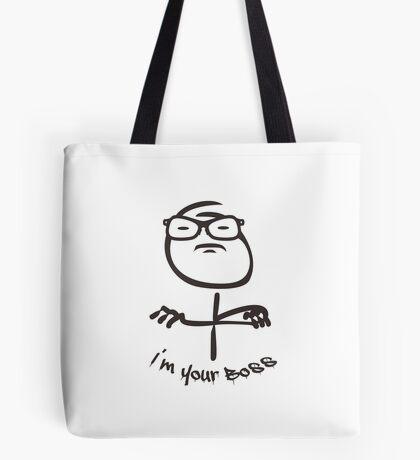 Nerdy - I'm your Boss VRS2 Tote Bag