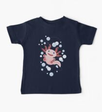 Axolotl and The Bubbles Baby Tee