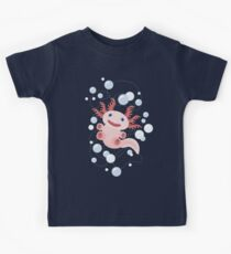 Axolotl and The Bubbles Kids Tee