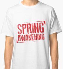 Camiseta clásica Spring Awakening logo