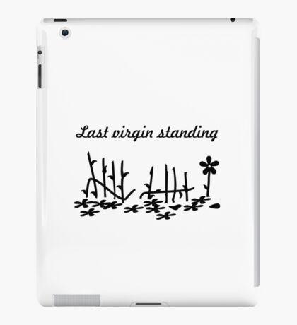 Last virgin standing VRS2 iPad Case/Skin