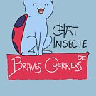 Chat Insecte by D4N13L