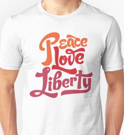 Peace Love Liberty T-Shirt