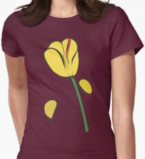 Tulip Petals Womens Fitted T-Shirt