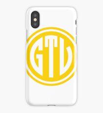 GTV monogram iPhone Case/Skin