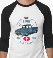 Ford F100 Truck Built Tough Baseballshirt mit 3/4-Arm