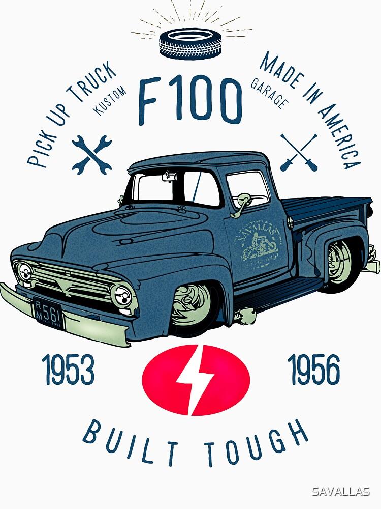 Ford F100 Truck Built Tough von SAVALLAS