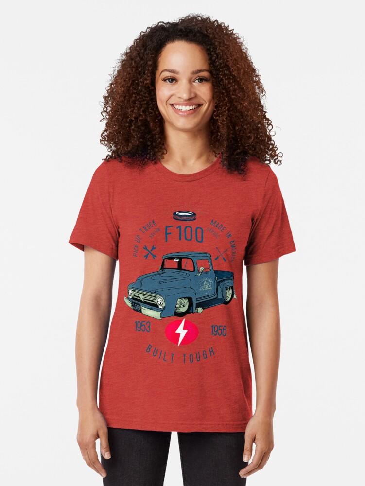 Alternative Ansicht von Ford F100 Truck Built Tough Vintage T-Shirt